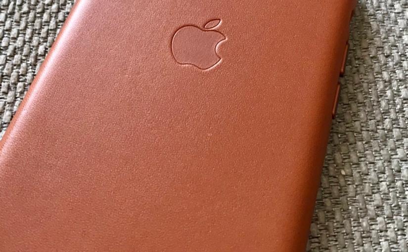 Apple iPhone X leathercase