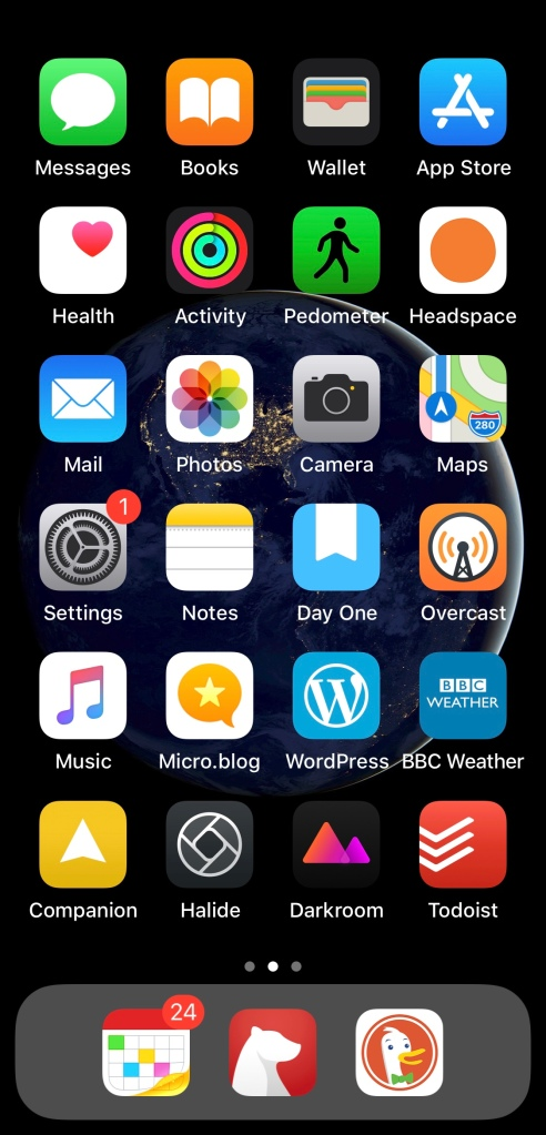home screen – Lee Peterson